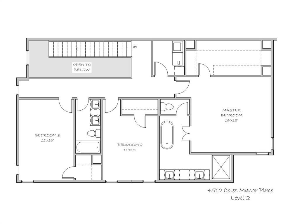Active Option Contract | 4510 Coles Manor  Place Dallas, TX 75204 6