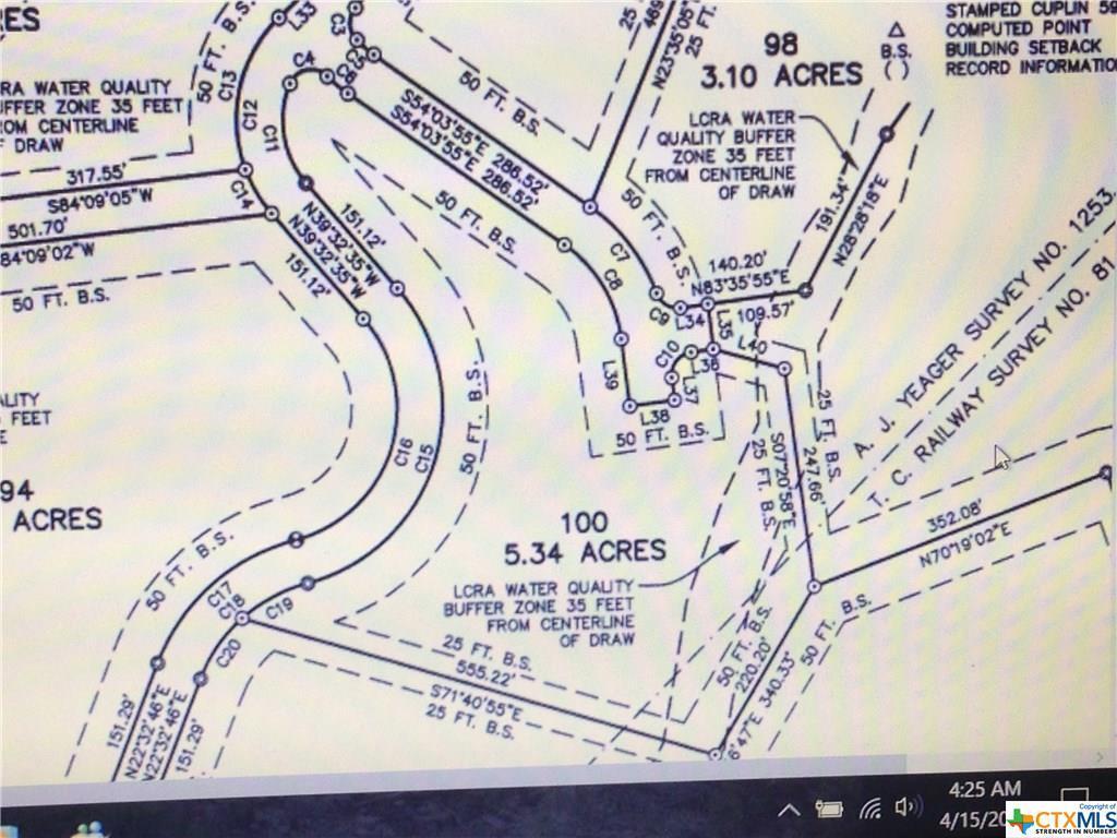 Active   TBD Saddle Ridge  Drive Bertram, TX 78605 22
