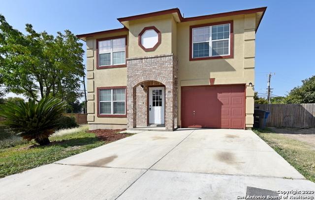 Active Option | 15 Stager Hills San Antonio, TX 78238 1