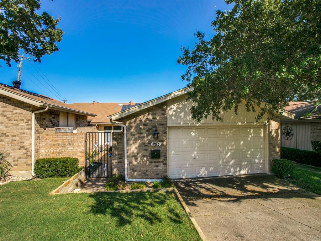 Sold Property | 803 Shady Glen Lane Bedford, Texas 76021 1