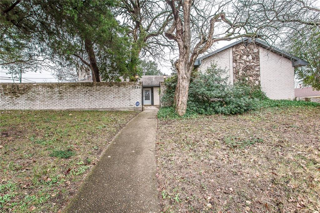 Sold Property | 2264 Dorrington Drive Dallas, Texas 75228 1