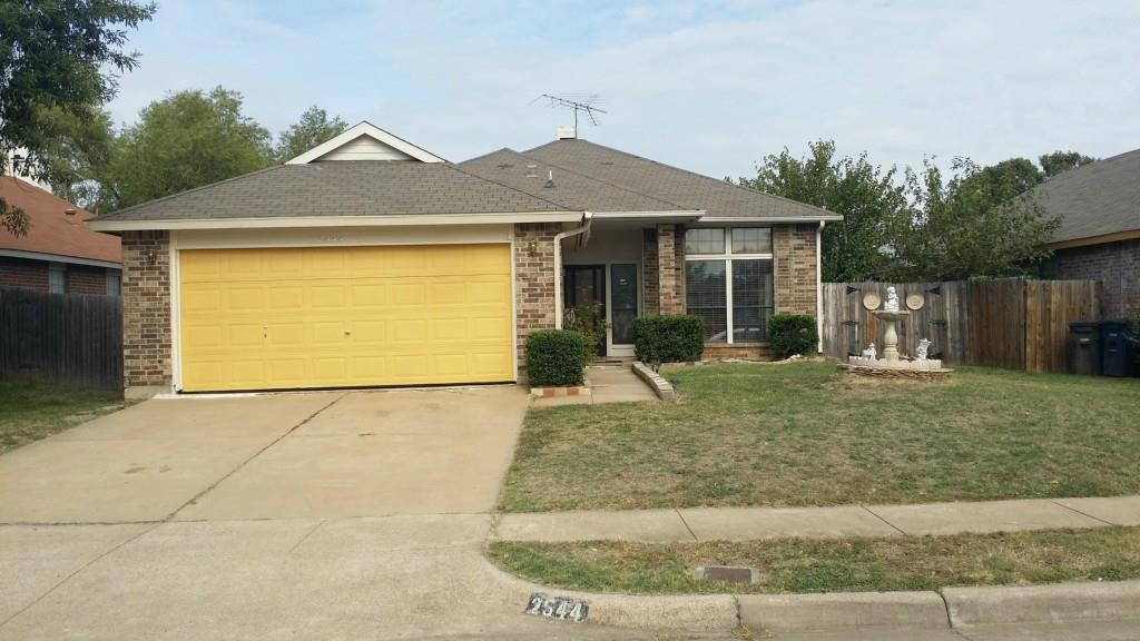 Sold Property | 2544 Forest Creek Drive Fort Worth, Texas 76123 0